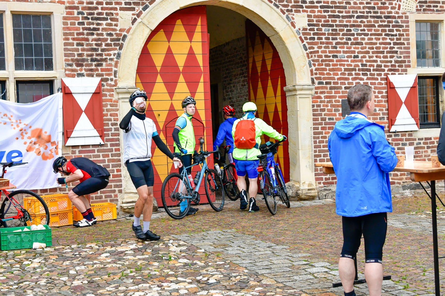 Servicepoint bei 50 km Schloss Raesfeld